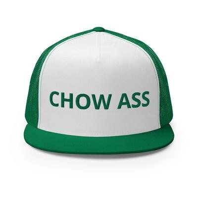 CHOW ASS Trucker Cap (Green)