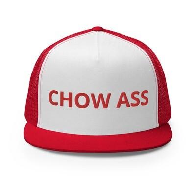 CHOW ASS Trucker Cap (Red)