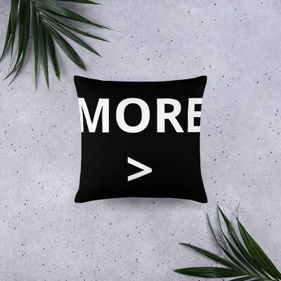 MORE > Basic Pillow