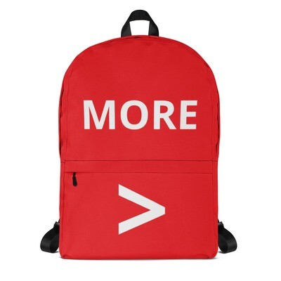 MORE > Backpack (Red)