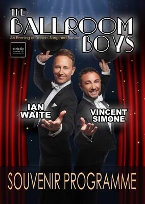 2019 The Ballroom Boys Souvenir Programme