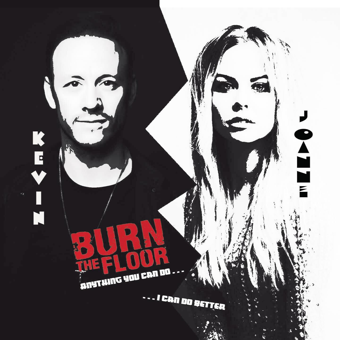 CD - Burn the Floor - Kevin Clifton & Joanne Clifton