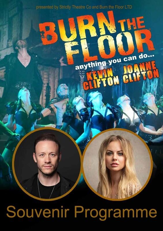 2020 Burn the Floor Tour Programme
