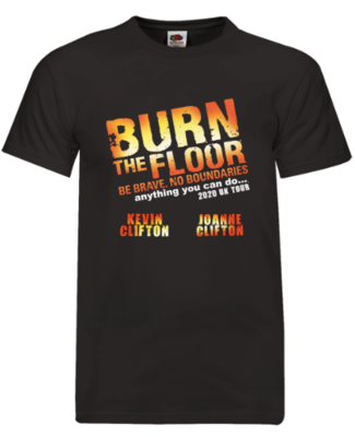 BURN THE FLOOR 2020 Tour T-Shirt (was £20)