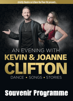 Souvenir Programme - An Evening with Kevin & Joanne Clifton