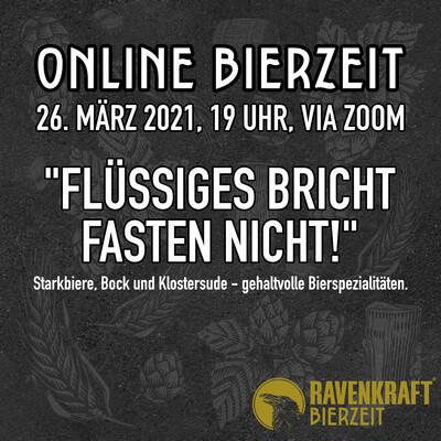 BierZeit Online Craftbeer-Tasting am 26. März 2021