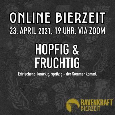 BierZeit Online Craftbeer-Tasting am 23. April 2021