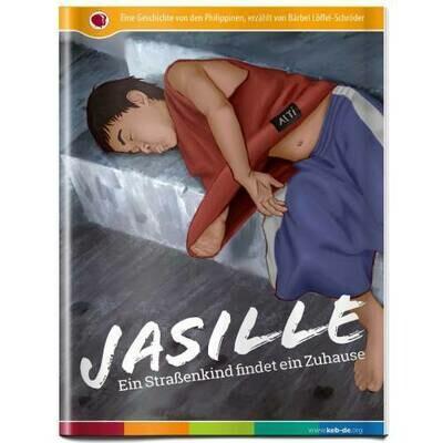 Jasille Leseheft - Ein Strassenkind findet ein Zuhause
