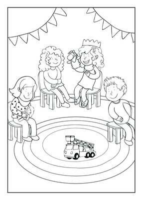 Emmi im Kindergarten