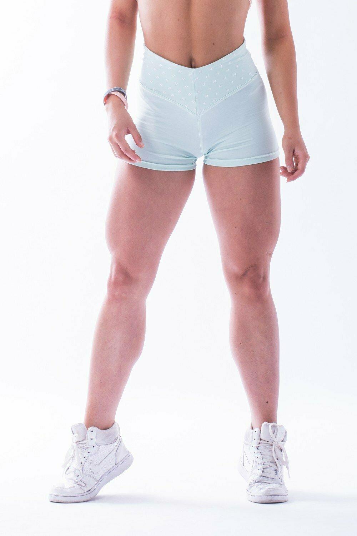 """Шорты High waist """"Ns"""" shorts 648 MINT"""