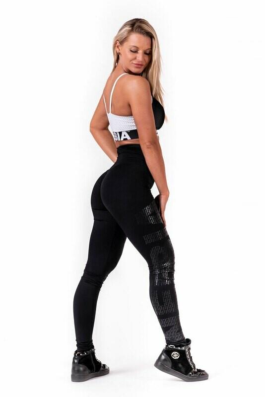 Леггинсы One tone pattern leggings 677