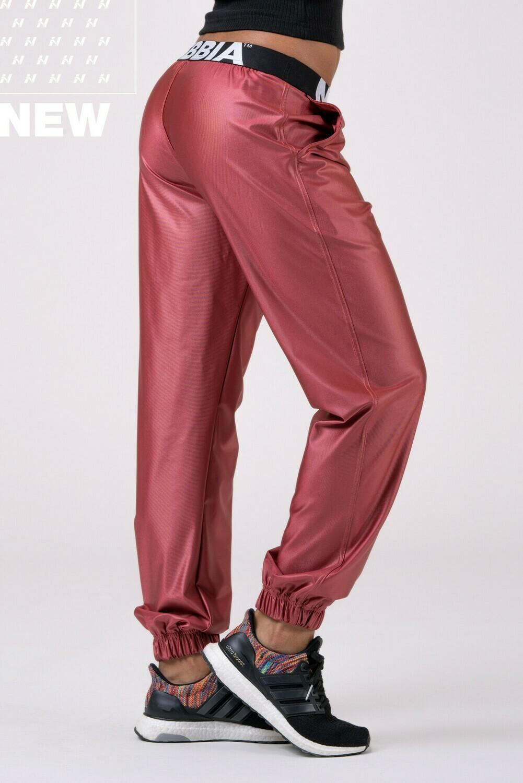 Брюки Sports Drop Crotch pants 529 Персик