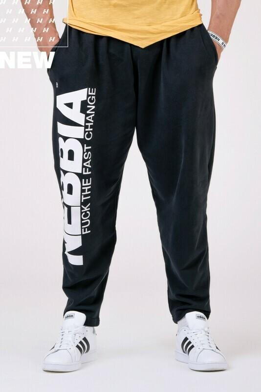 Спортивные брюки Beast Mode On iconic sweatpants 186 Черные