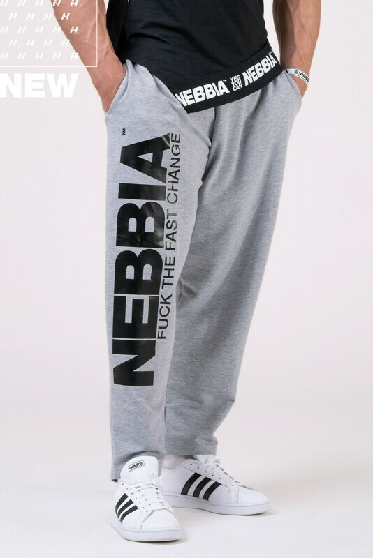 Спортивные брюки Beast Mode On iconic sweatpants 186 Серые