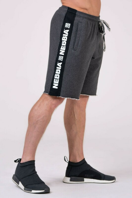 Шорты Shorts with lampas 177 Серые