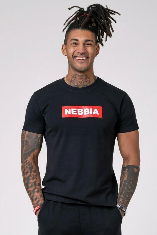 Футболка NEBBIA Men's T-shirt 593 Черная