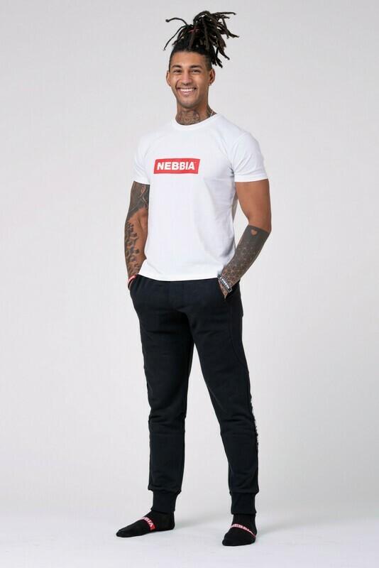 Футболка NEBBIA Men's T-shirt 593 Белая