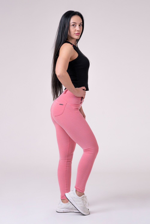 Dreamy Edition Bubble Butt pants 537 пудрово-розовый