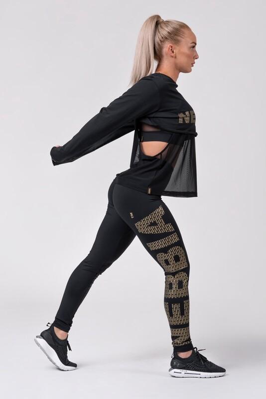 Леггинсы Gold NEBBIA print leggings 827