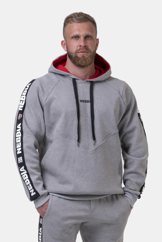 Толстовка  Unlock the Champion hoodie 194 Серая