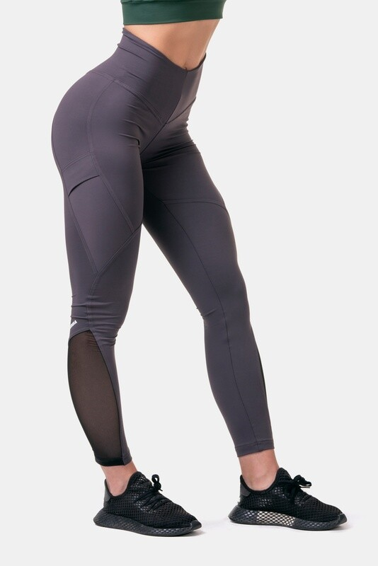 Легинсы женские Fit & Smart High Waist Leggings 572 Каштановые