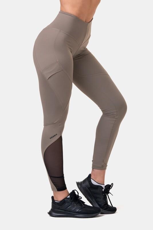 Легинсы женские Fit & Smart High Waist Leggings 572 Мокко