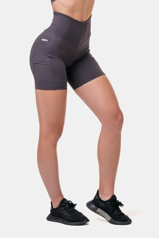 Велосипедки High-waist Fit & Smart biker shorts 575 Каштановые