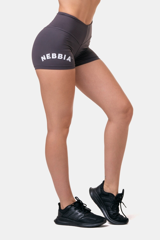 Шорты женские Classic HERO High Waist Shorts 582 Каштановые