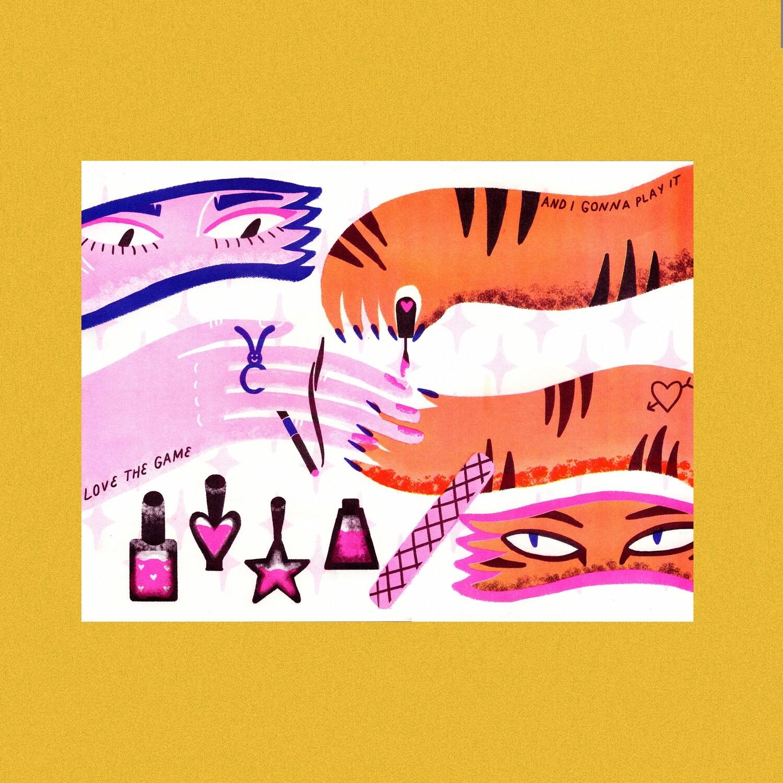 Постер «Маникюр»