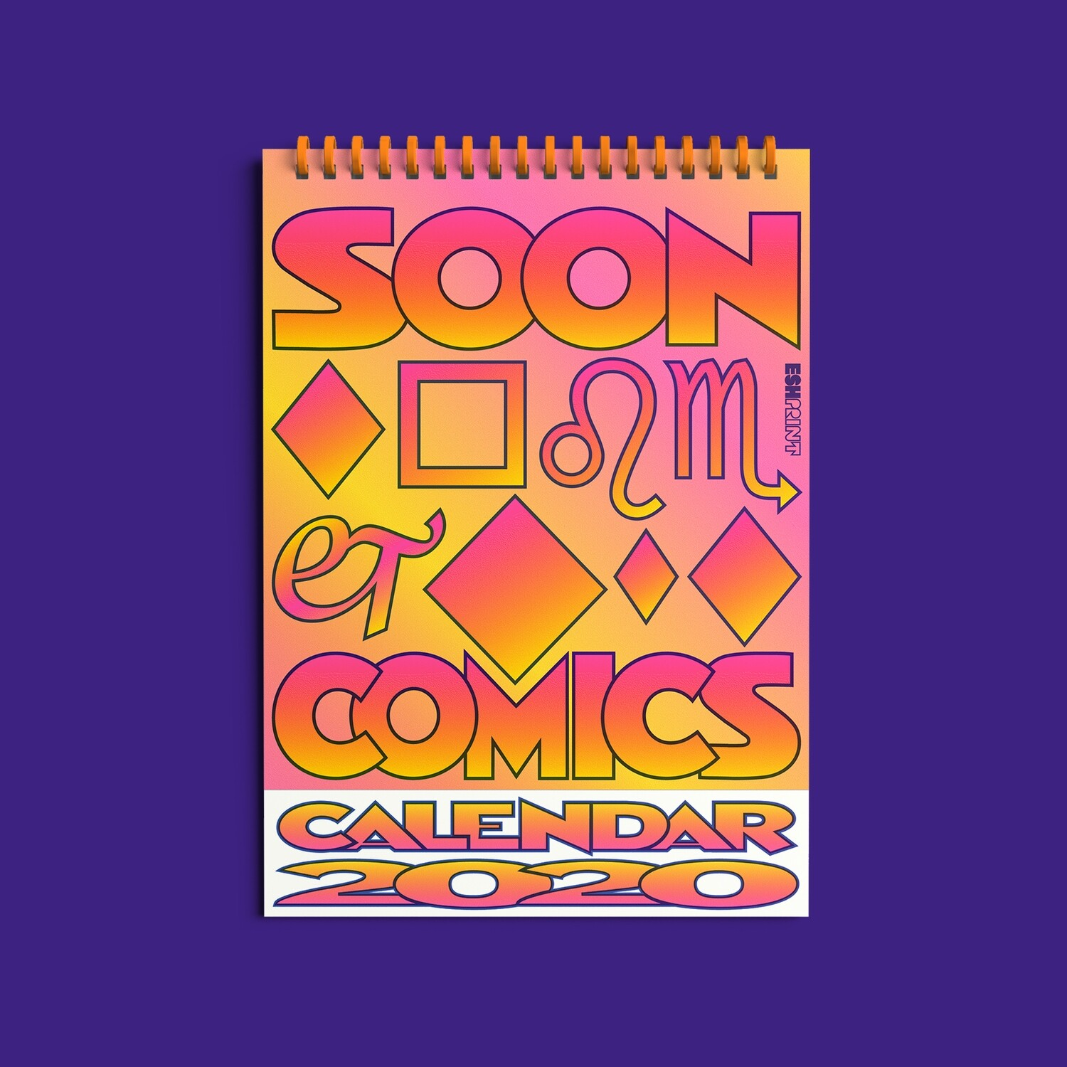 «Soon to be just comics» календарь 2020