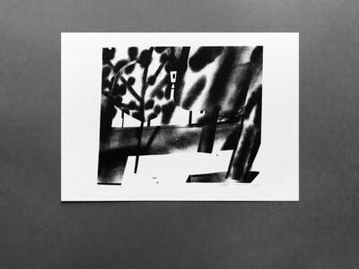 Принт+открытка из серии «Парк»