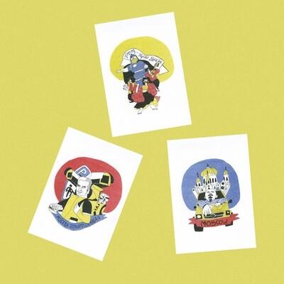 Набор открыток «Похорошевшая»