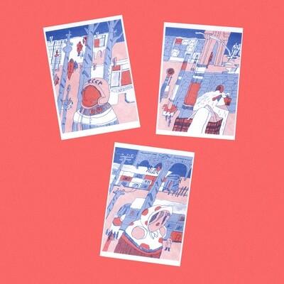 Набор открыток «Россия»