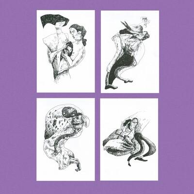 Набор открыток «Измены»