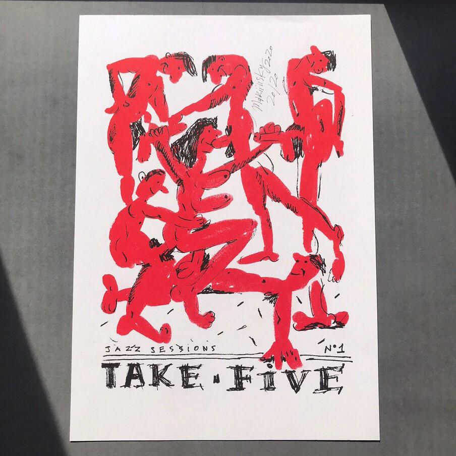 """Постер """"Take Five"""""""