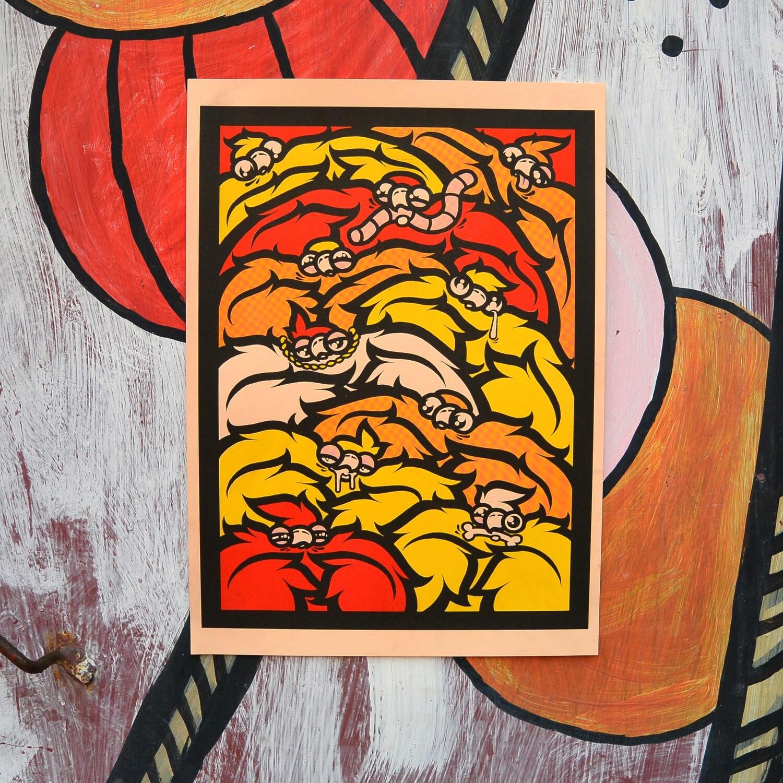 """Постер """"Pigeons #1"""""""