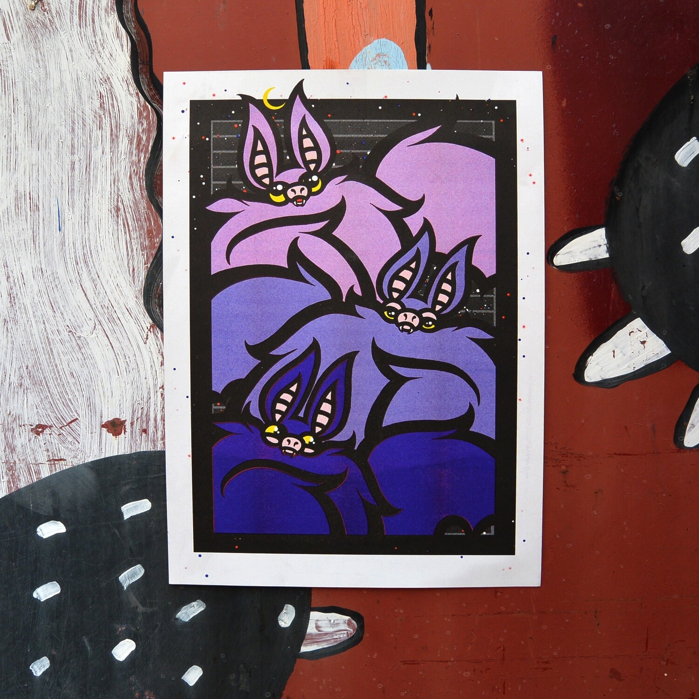 "Постер ""Bats"""