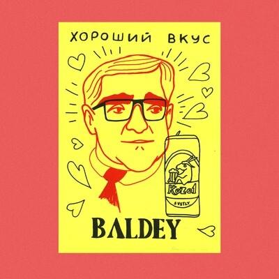 "Постер ""Baldey"""