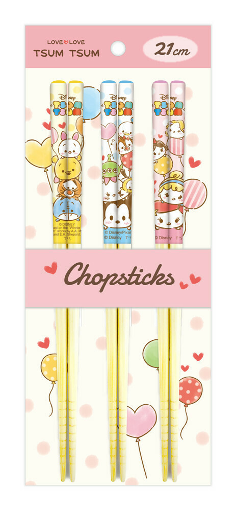 Baguettes Disney (différents motifs) / Disney chopsticks (multiple patterns)