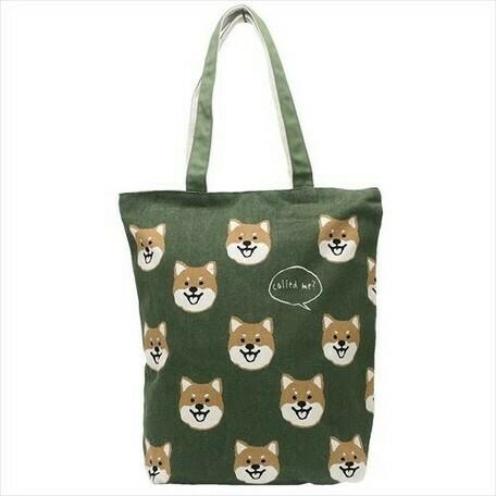 Sac fourre-tout (shiba) (différentes couleurs) / Tote bag (shiba) (multiple options)