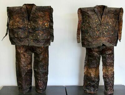 Two Copper Suits