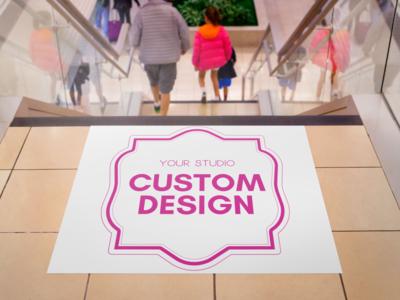 A custom Image: Floor Graphic