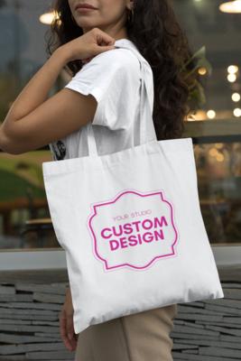 A custom Image: Tote Bag