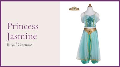 STORYBOOK: The Princess Jasmine - Royal Costume