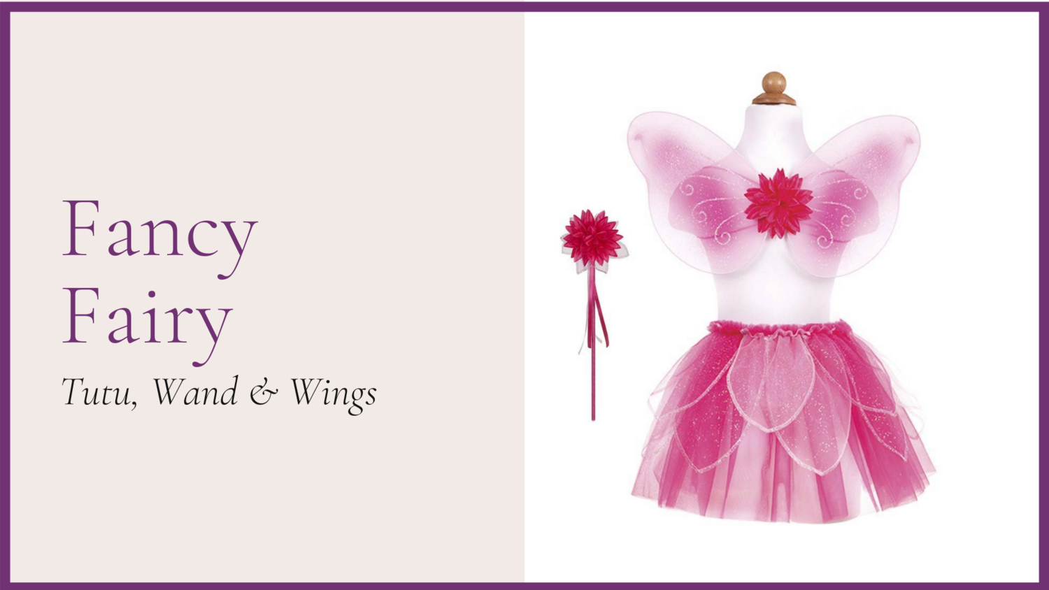 STORYBOOK: Fancy Fairy - Pink