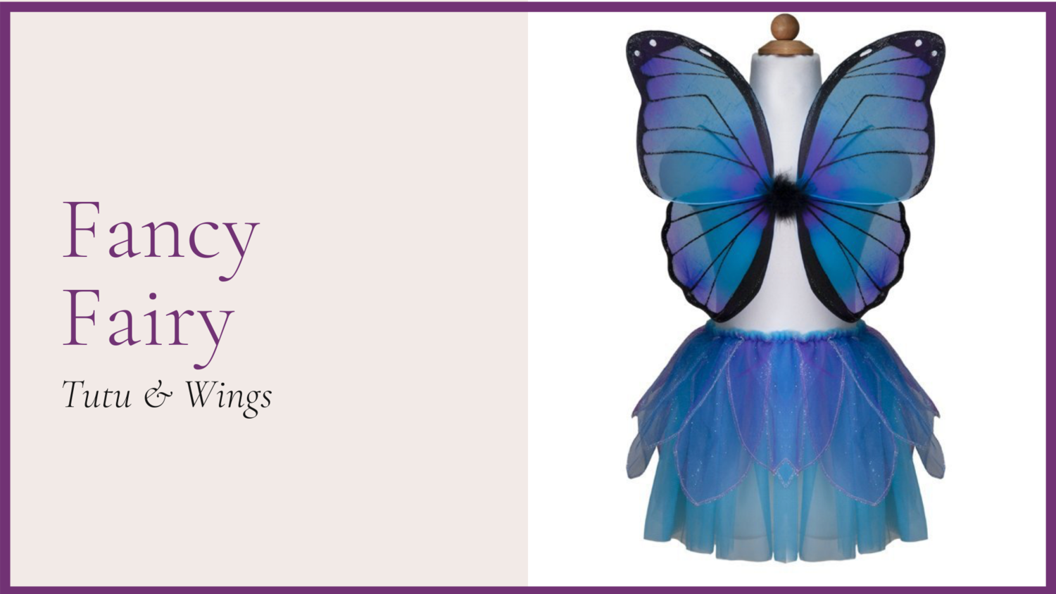 STORYBOOK: Fancy Fairy - Midtnight Blue