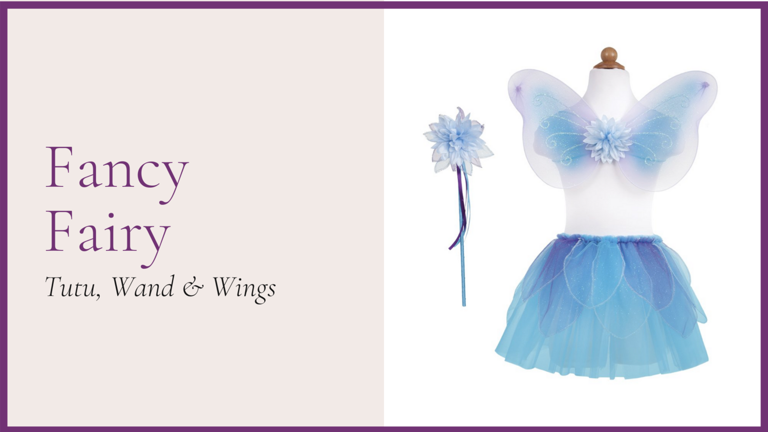 STORYBOOK: Fancy Fairy - Blue
