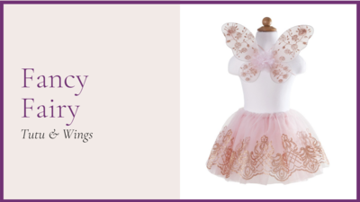 STORYBOOK: Fancy Fairy - Rose Gold