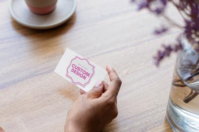 A custom Image: Business Cards