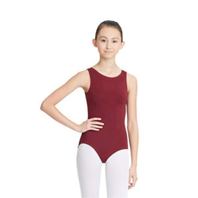 DANCEWEAR: 4) Maroon - Leotard